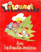 Titounet et Titounette -8- Titounet et Titounette avec Top, le malin souriceau