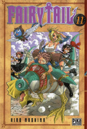 Fairy Tail -11- Tome 11