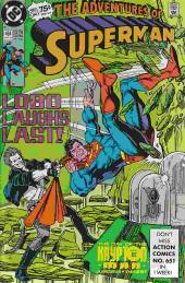 Superman (The Adventures of) (1987) -464- Lobo laughs last!