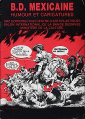 (Catalogues) Expositions - B.D. mexicaine : humour et caricatures