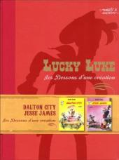 Lucky Luke - Les Dessous d'une création (Atlas) -6- Dalton City / Jesse James