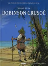 Les incontournables de la littérature en BD -3- Robinson Crusoé