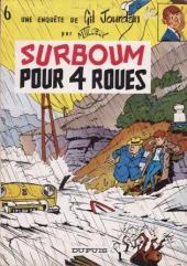 Gil Jourdan -6a73- Surboum pour 4 roues