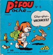 Pifou (Poche) -5- Glop-glop vacances