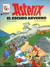 Astérix (en espagnol) -11- Astérix el escudo arverno