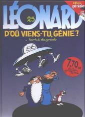 Léonard -25a1998- D'où viens-tu génie ?