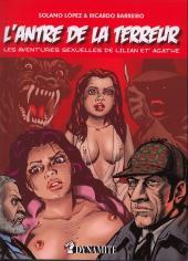Les aventures sexuelles de Lilian et Agathe -1- L'antre de la terreur