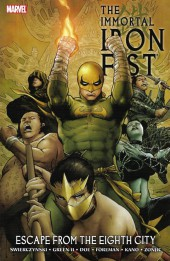 The immortal Iron Fist (2007) -INT05- Escape from the Eighth City