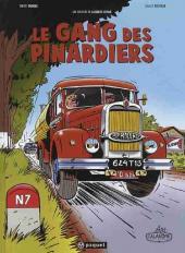 Jacques Gipar (Une aventure de) -1- Le gang des pinardiers