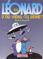 Léonard -25Ind2007- D'où viens-tu, génie ?