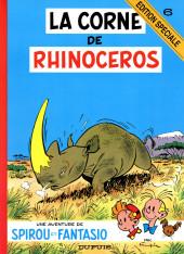 Spirou et Fantasio -6ES- La corne de rhinocéros