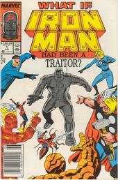 What If? vol.1 (1977) -HS- What if iron man had been a traitor?