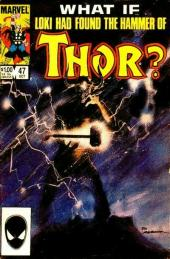 What If? vol.1 (Marvel comics - 1977) -47- What if... loki found thor's hammer first?