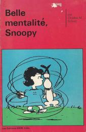Peanuts -8- (HRW) -13- Belle mentalité, Snoopy
