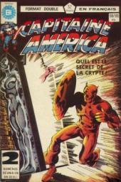 Capitaine America (Éditions Héritage) -9899- Taches mentales sur la neige blanche