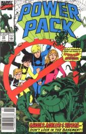 Power Pack (1984) -55- Mysterio