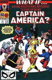 What If? vol.2 (Marvel comics - 1989) -3- What if... Steve Rogers had refused to give up being Captain America ?