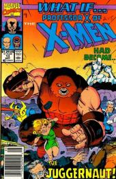 What If? vol.2 (1989) -13- What if... professor x had become the juggernaut?