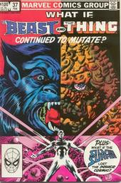 What If? vol.1 (Marvel comics - 1977) -37- What if... the Beast and the Thing Continued to Mutate?