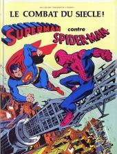 Superman (Sagédition - Présence de l'avenir) -1- Le combat du siècle ! Superman contre Spider-Man