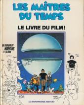 Les maîtres du temps -2- Le livre du film !