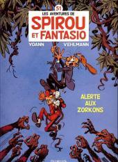 Spirou et Fantasio -51HC- Alerte aux Zorkons
