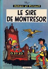 Johan et Pirlouit -8b63- Le sire de Montrésor