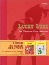 Lucky Luke - Les Dessous d'une création (Atlas) -9- L'escorte / Des barbelés sur la prairie