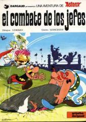 Astérix (en espagnol) -7- El combate de los jefes