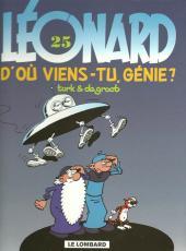 Léonard -25b2000- D'où viens-tu, génie ?