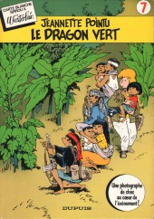 Couverture de Jeannette Pointu -07- Le dragon vert