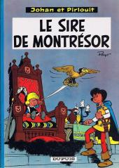 Johan et Pirlouit -8c65- Le sire de Montrésor
