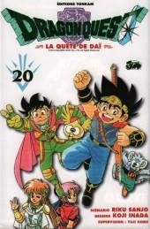 Dragon Quest - La quête de Daï -20- La promesse faite à la lance maléfique