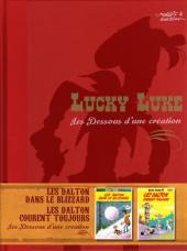 Lucky Luke - Les Dessous d'une création (Atlas) -10- Les Dalton dans le blizzard / Les Dalton courent toujours