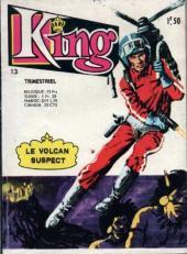 King (Arédit - 1re série) -13- Le volcan suspect