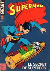 Superman Géant (Sagédition - 1re série) -2- Le secret de Superboy