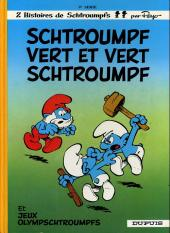 Les schtroumpfs -9b1984- Schtroumpf vert et vert schtroumpf