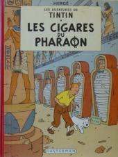 Tintin (Historique) -4B35- Les cigares du pharaon