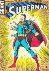 Superman Géant (Sagédition - 2e série) -5- Superman Géant N°5