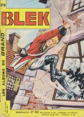 Blek (Les albums du Grand) -219- Numéro 219