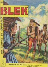 Blek (Les albums du Grand) -192- Numéro 192