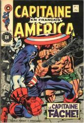 Capitaine America (Éditions Héritage) -1- Le capitaine se fâche !...