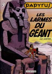 Papyrus -9a97- Les larmes du géant