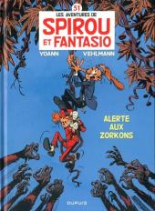 Spirou et Fantasio -51- Alerte aux Zorkons