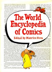 (DOC) Various studies and essays - The World Encyclopedia of Comics