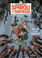 Spirou et Fantasio -51TL1- Alerte aux Zorkons