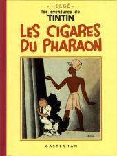 Tintin (Fac-similé N&B) -4PF- Les cigares du Pharaon