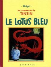 Tintin (Fac-similé N&B) -5PF- Le Lotus Bleu