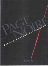 Page Noire -HC- Page noire