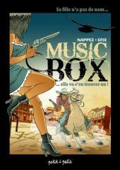 Music box -1- Sa fille n'a pas de nom... elle va s'en trouver un!